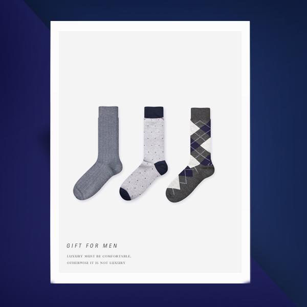 Gift Set v20 남자 정장 양말 선물 세트
