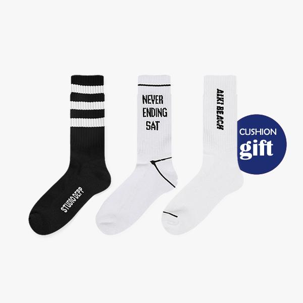선물세트set.11에어쿠션 스포츠/ 남자 패션 정장 데일리 양말 선물 세트 gift set
