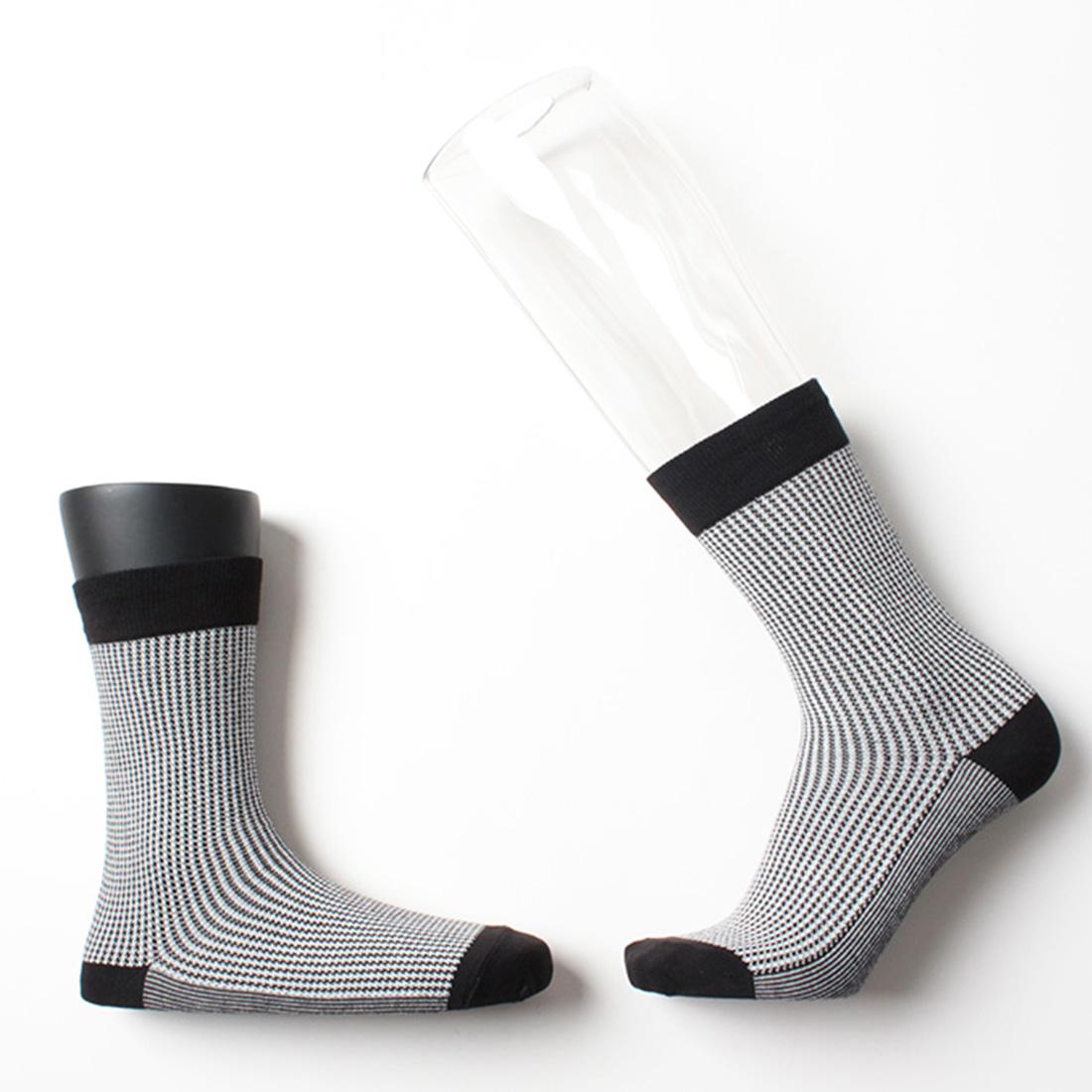 오리지널 하운드투스 블랙 / 클래식 남자 여자 패션정장 양말