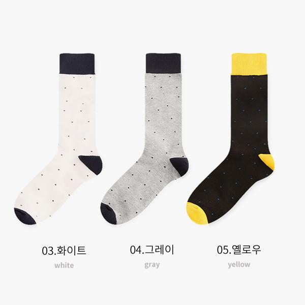 포인트 도트 5color 남자 패션 정장