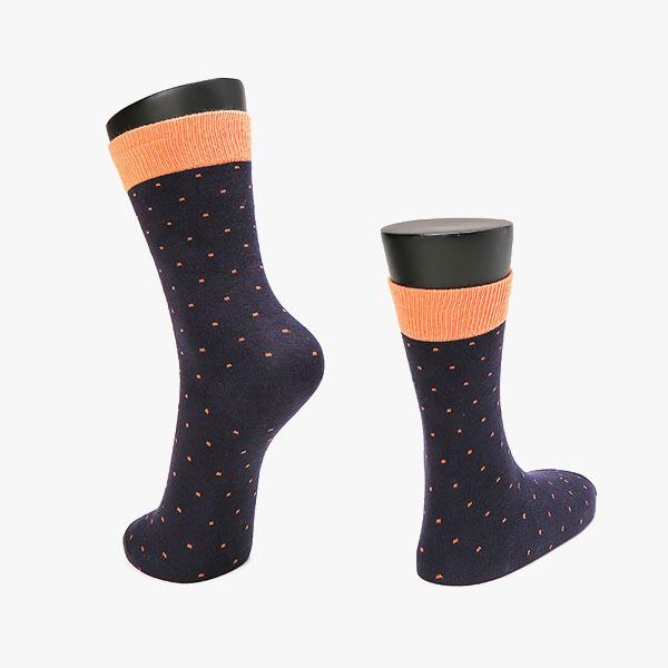 포인트 배색도트 양말 5color / 남자 패션 정장