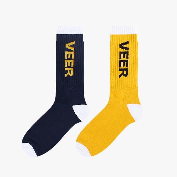 VEER 스포츠 양말2color/ 쿠션 스포츠 남자 패션 정장 양말 데일리 베이직 무지