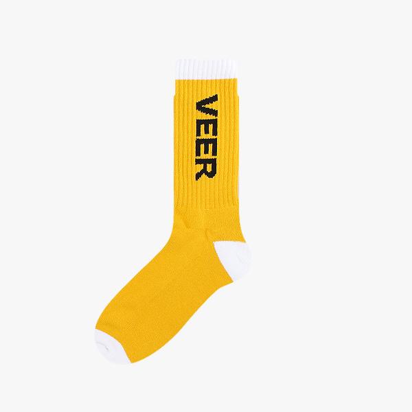 VEER 스포츠 양말 쿠션 옐로우